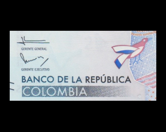 Colombia, P-458a, 2000 pesos, 2015