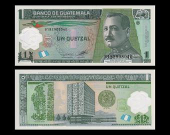 Guatemala, p-115b, 1 quetzal, polymer, 2012