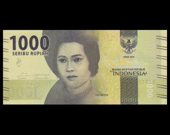 Indonésie, P-154, 1000 rupiah, 2016