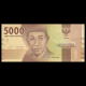 Indonésie, P-156, 5000 rupiah, 2016