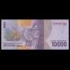 Indonésie, P-157, 10000 rupiah, 2016