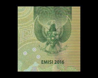 Indonesia, P-158a, 20000 rupiah, 2016