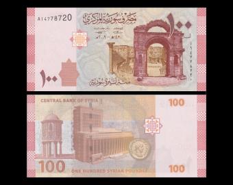 Syria, p-113, 100 pounds, 2009