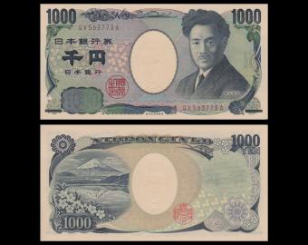 Japan, P-104d, 1000 yen, 2004