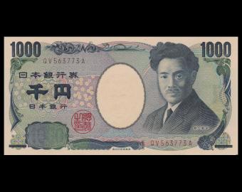 Japon, P-104d, 1000 yen, 2004