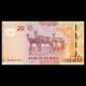 Namibie, P-12b, 20 dollars, 2013