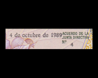 Costa Rica, P-236d, 5 colones, 1989
