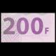 Congo, P-99, 200 francs, 2007