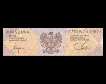 Pologne, P-149b, 20 zlotych, 1982