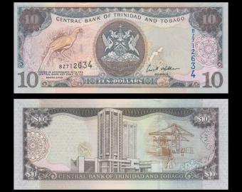 Trinidad & Tobago, P-48, 10 dollars, 2006