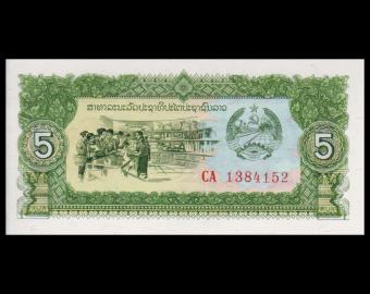 Lao, P-26b, 5 kip, 1979