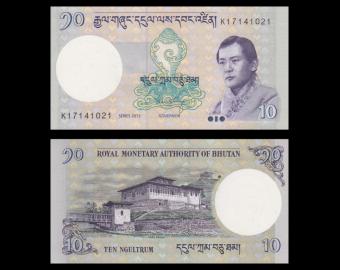 Bhutan, p-29b, 10 ngultrum, 2013