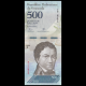 Venezuela, p-94a, 500 bolivares, 2016