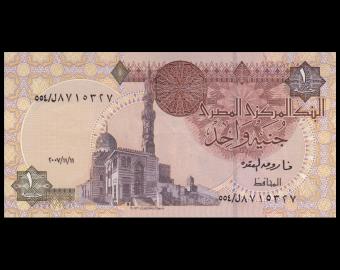Egypt, P-050n, 1 pound, 2007