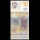 Serbie, p-54b, 10 dinara, 2013