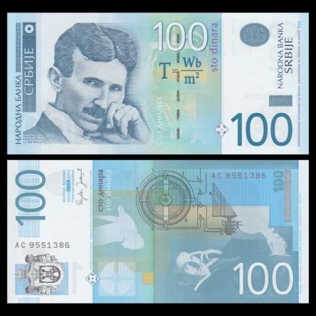 Serbie, P-49, 100 dinara, 2006