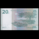 Congo, P-83, 20 centimes, 1997, verso