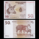 Congo, P-84, 50 centimes, 1997