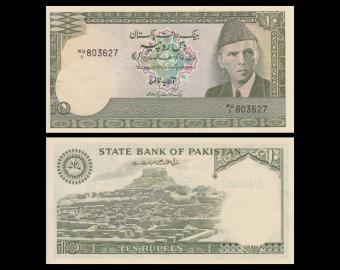 Pakistan, P-34, 10 rupees, 1982
