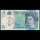 Angleterre, P-394, 5 pounds, 2015, SUP / ExtFine
