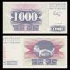 Bosnie-Herzégovine, P-015, 1000 dinara, 1992