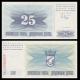 Bosnia and Herzegovina, P-011, 25 dinara, 1992