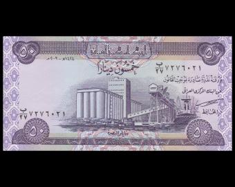 Irak, P-090, 50 dinars, 2003