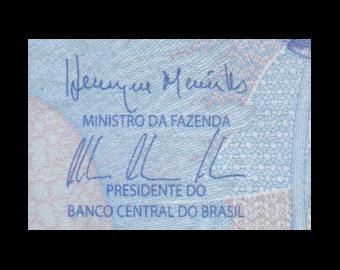 Brésil, P-252c, 2 reals, 2010