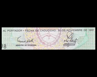 Argentine, Tucuman, P-S2711b, 1 austral, 1991