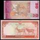 Lot 2 billets 20 roupies : Nepal, p-New, 2016 + Sri Lanka, p-123b, 2015