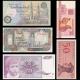 Lot 5 billets de banque de 50 : Bielorussie, Indonesie, Egypte, Somalie & Yougoslavie