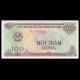 Vietnam, p-105a, 100 dông, 1991