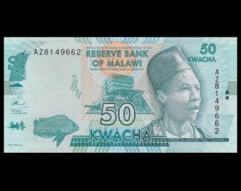 Malawi, P-64c, 50 kwacha, 2016