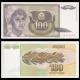 Yougoslavie, P-108, 100 dinara, 1991