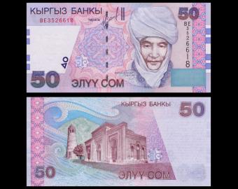 Kyrgyzstan, P-20, 50 som, 2002