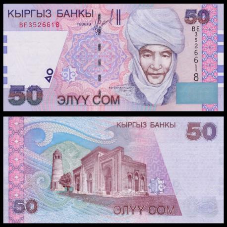 Kirghizistan, P-20, 50 som, 2002