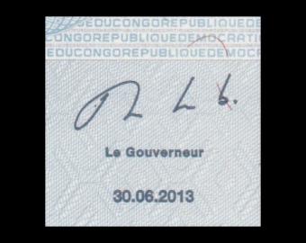 Congo, P-098b, 100 francs, 2013