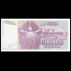 Yugoslavia, p-121, 5000000 dinara, 1993