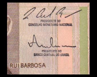 Brésil, P-209b, 10 cruzados, 1986-87, PresqueNeuf/A-UNC