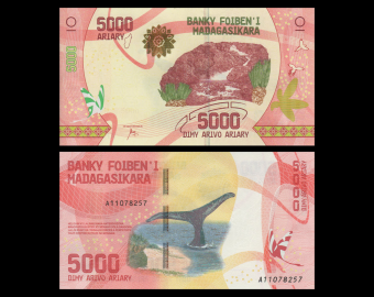 Madagascar, P-new, 5000 ariary, 2017