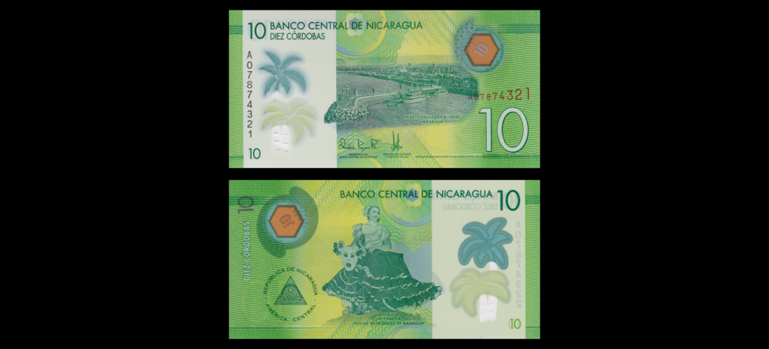 10;20;50 cordobas SET Nicaragua 2015 UNC POLYMER New Design 2014 Pick New