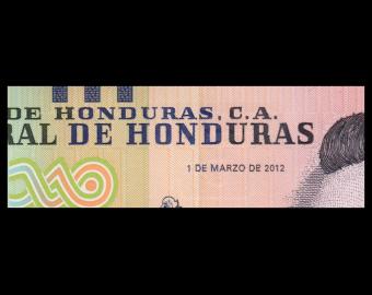 Honduras, P-098a, 5 lempiras, 2012
