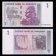Zimbabwe, P-65, 1 dollar, 2007