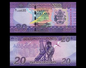 Solomon Islands, p-34, 20 dollars, 2017