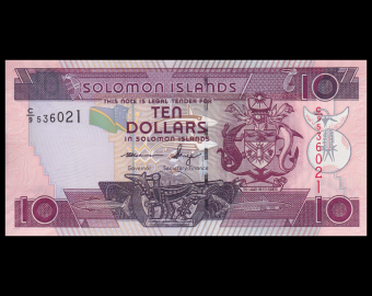 Solomon Islands, P-27c, 10 dollars, 2009
