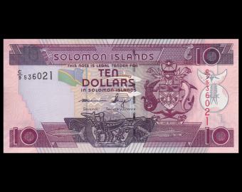 Solomon Islands, P-27c, 10 dollars, 2009