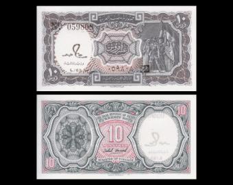 Egypt, P-184a, 10 piastres, 1982-86