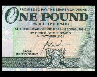 Scotland, P-351e, 1 pound, 2001