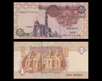 Egypte, P-050j, 1 pound, 2005