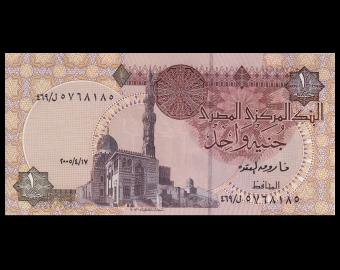 Egypte, P-050j, 1 pound, 2005